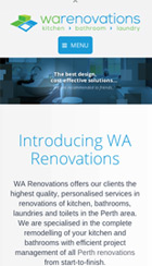 Warenovations-mobile - web design maroochydore - web developer maroochydore