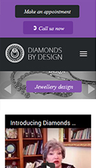 jewellery design web dev