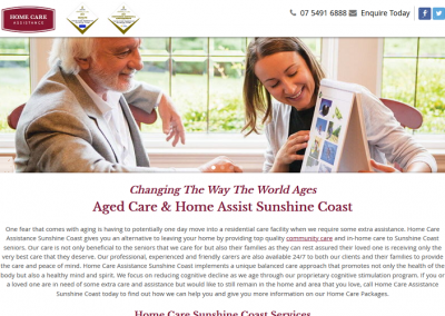 Home Care Assistance Sunshine Coast
