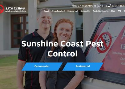 Little Critters Pest Control & Termite Management Specialists